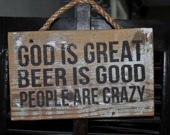 God is Great Doorhanger