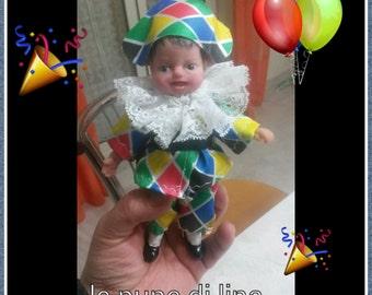 baby ooak Arlecchino