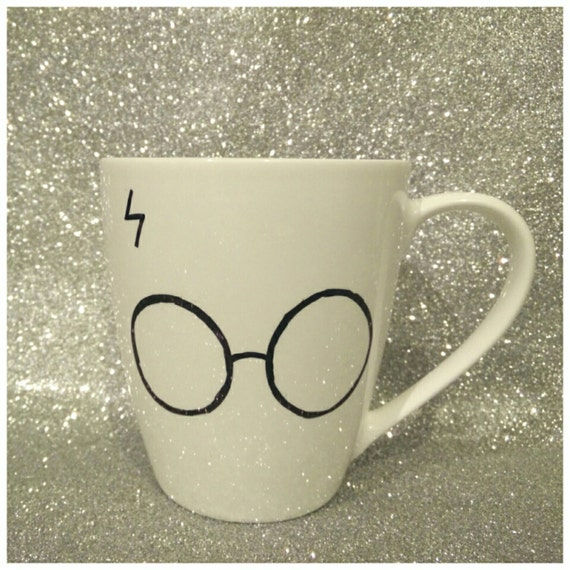 Harry's Glasses with the Grim Inside - Harry Potter Mug