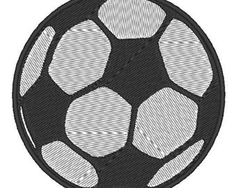 Soccer Embroidery Design, Soccer Ball  Embroidery Download, Sports Embroidery Design, Machine Embroidery Design for 4x4 Hoop Football