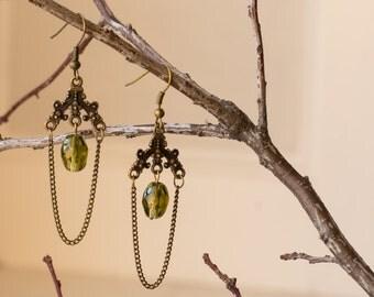 Antique Chandelier Earring