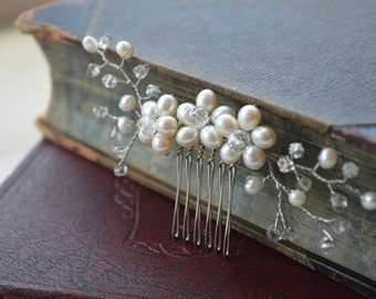 Bridal hair comb, bridal hair comb, wedding hair comb, bridal accessories, bridal headpiece hairpiece haircomb, wedding hair piece