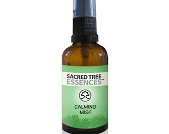 CALMING MIST  Shamanic Aura & Space Spray a synergy of sacred Amazonian master plants, essential oils and icaros, medicine songs.