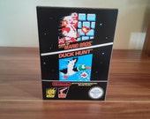 NES Super Mario Bros  Duck Hunt  USA or Pal Repro Box