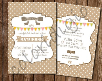 Participation in Shabby Style wedding