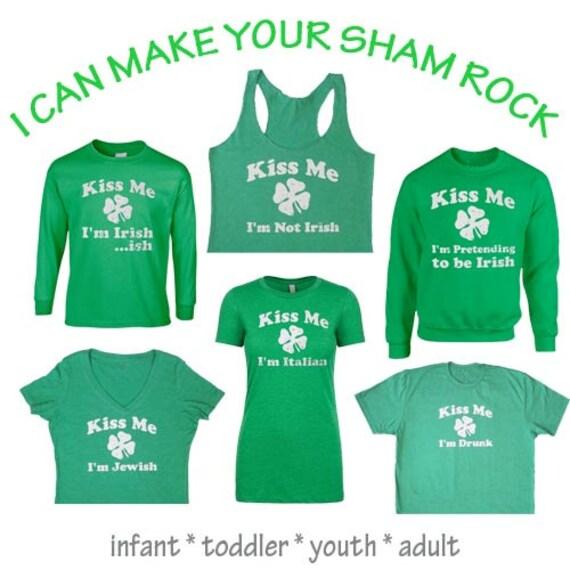 Kiss Me I'm Irish. St Patty's Shirt. St Patrick's Day Shirt. Funny Shirt. Funny Shirts. Workout Clothes. St Patrick's Day. Kiss Me. Eco.