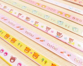 Origami Lucky Star Paper Strips Cute Teddy Star Folding DIY - Pack of 70 Strips