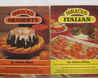 Vintage Cookbook Fabulous Italian Recipes