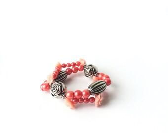 Peachy Rose Bracelet
