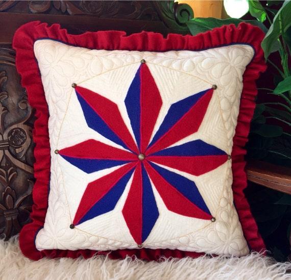 Decorative Pillows Homemade : Decorative pillow homemade throw pillow nautical mariners
