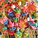 Carnival Follies, Cupcake Toppers, Set of 5, Lisa Kettell