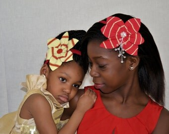 Ankara, asooke & lace style headpieces