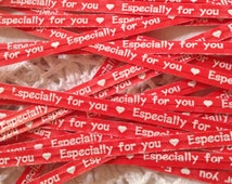 Red Especially For You Paper Twist Ties - Perfect for your events