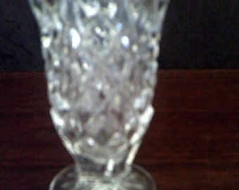 Bud Vase Crystal Glass