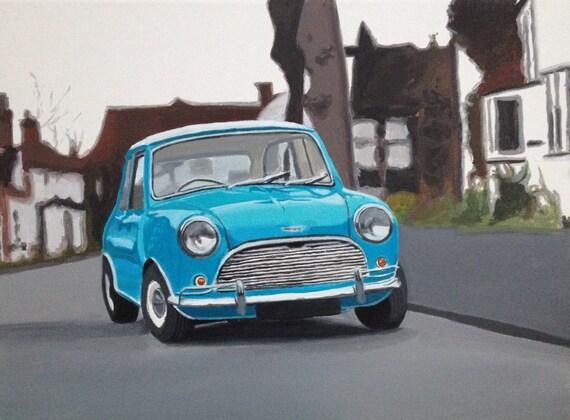 mini cooper austin mini british car vintage car mini cooper. Black Bedroom Furniture Sets. Home Design Ideas