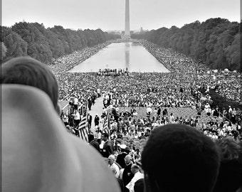 24x36 Poster; March On Washington C1963 Civil Rights Movement