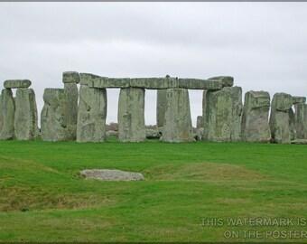 24x36 Poster; Stonehenge P1