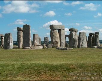 24x36 Poster; Stonehenge P3