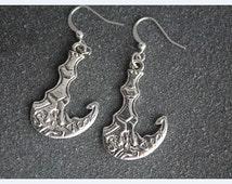 League of Legends Thresh Scythe and Lantern earrings jewelry