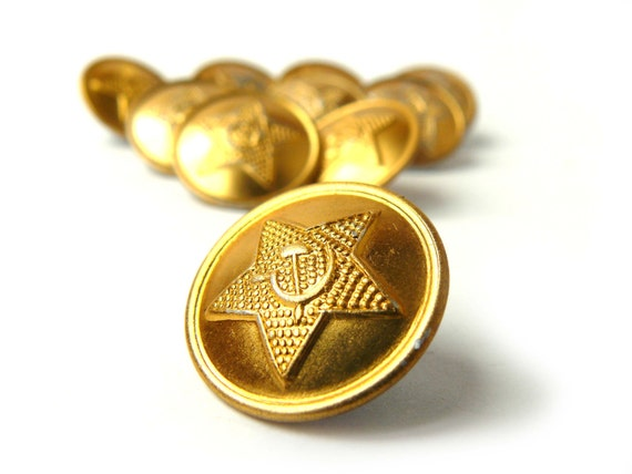 Vintage Military Buttons 43