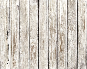 Vinyl Backdrop, WHITE GRUNGE WOOD Floor Photography Backdrop // Matte vinyl backdrop