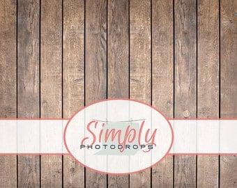 Vinyl Backdrop, BROWN WOOD FLOOR, Vinyl Photography Backdrop // Simply photodrops premium backdrop