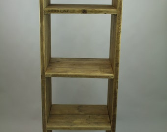 Shelving Unit with adjustable shelves.