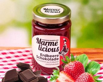 Strawberry Chocolate fruit spread