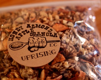 Organic Honey Almond Apple Granola