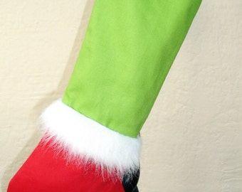 The Grinch Christmas Stocking, Mr. Grinch Legs