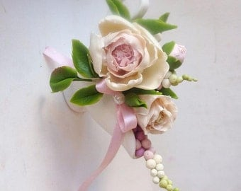 flower arrangements - cup with artificial flowers - roses and peony, fake floral arrangement