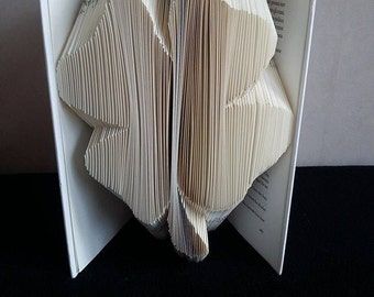 3 leaf clover book folding pattern