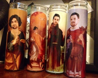 Fall Out Boy Prayer Candle
