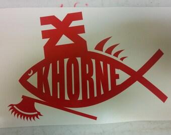 Khorne Fish Decal