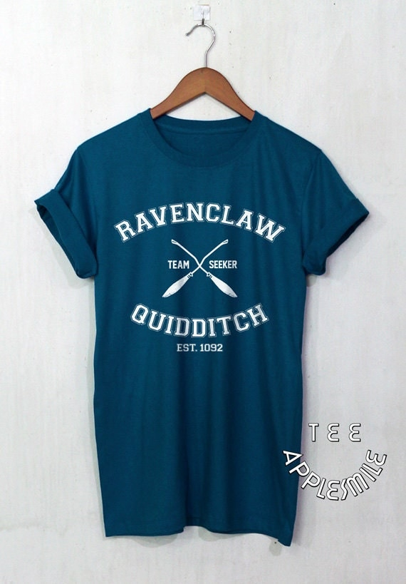 Ravenclaw Quidditch shirt Team t shirt Harry by AppleSmileTee