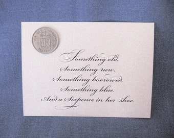 Sixpence for the Bride