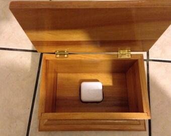 Custom music box.
