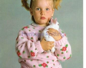 jumper dk knitting pattern 99p pdf