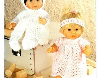 dolls outfits dk knitting pattern 99p pdf