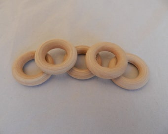 Wholesale Wooden Rings 2.25 Inch set of 50