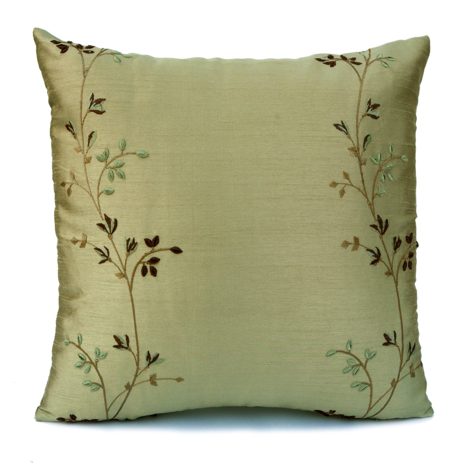 Throw Pillows Linen : Lime Green Pillow Throw Pillow Cover Decorative Pillow