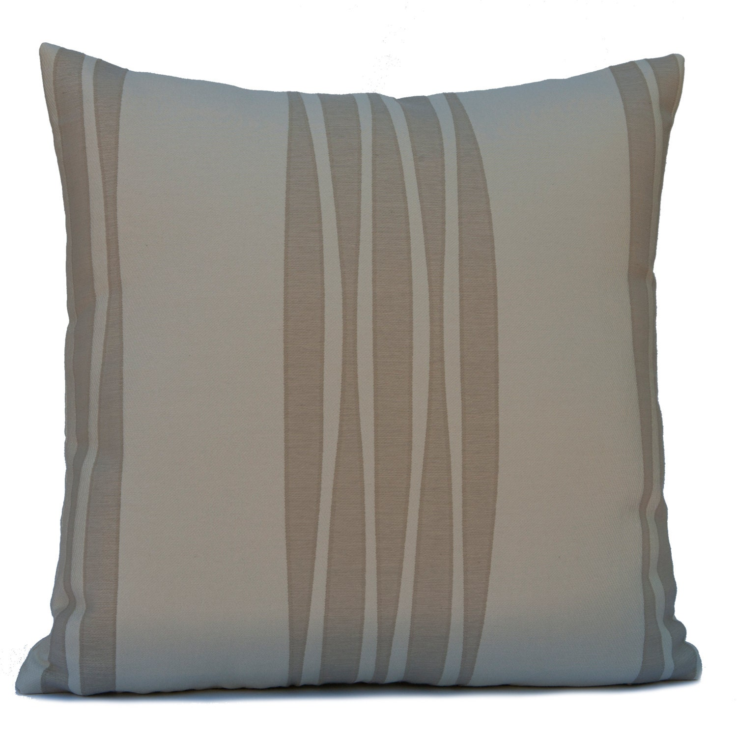 Decorative Pillows Beige : Ivory and Beige Pillow Throw Pillow Cover Decorative Pillow