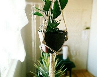 suspensin de planta de macrame colgar jardinera compaero de trabajo regalo regalo de