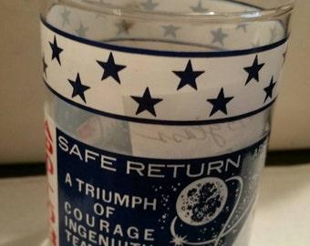 Apollo USA NASA Glass Safe Return