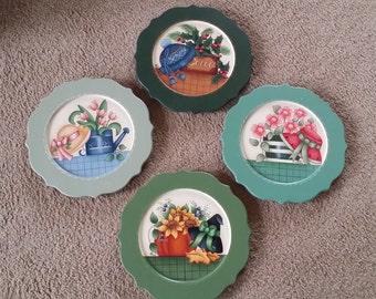 Season Plates set of four