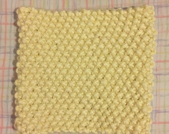 Hand Knit Neck Warmer - Cream