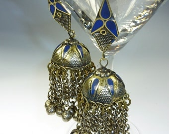 Dome Shaped Kazakh Earrings