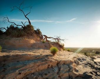 Landscape Fine Art Print, Lake Mungo, outback Australia