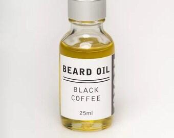 Reid Beard Oil BLACK COFFEE scent- Made in AUSTRALIA- All Natural.