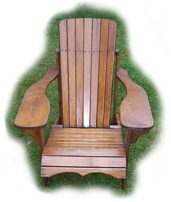 Mc1 muskoka adirondack chair plans full size patterns pdf - Patterns for adirondack chairs ...